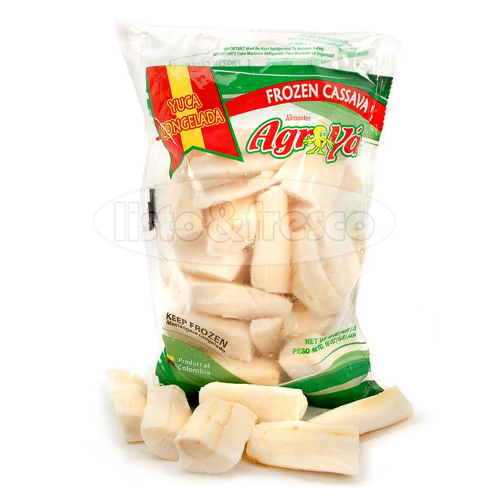 Agroyá producto yuca congelada, frozen cassava