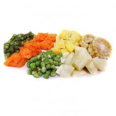 Mix de verduras congeladas Frozen vegetable mix Sopa de verduras congelada